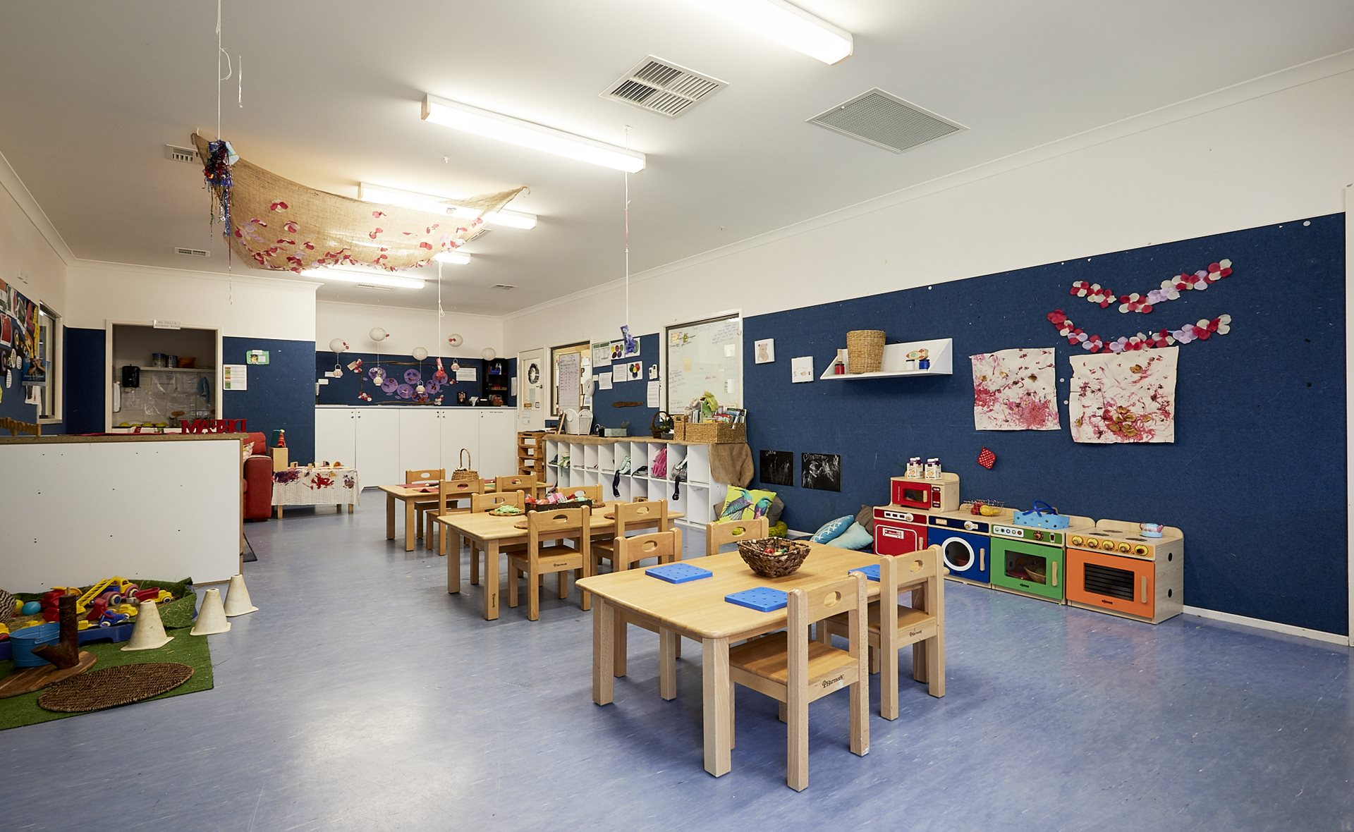 Preschool child care classroom at The Learning Tree Yarralumla